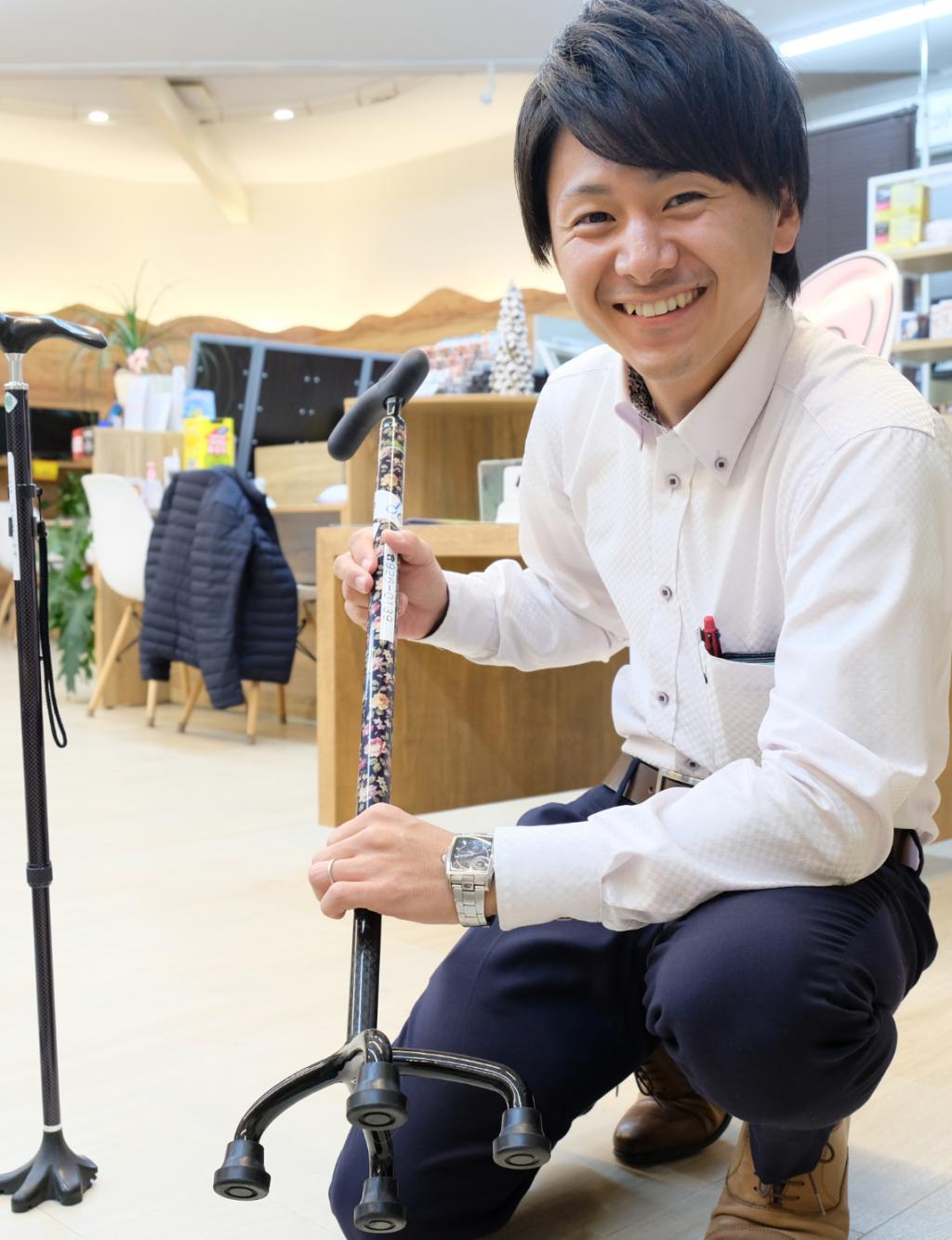 マネージャー/福祉用具専門相談員 山崎 智秀